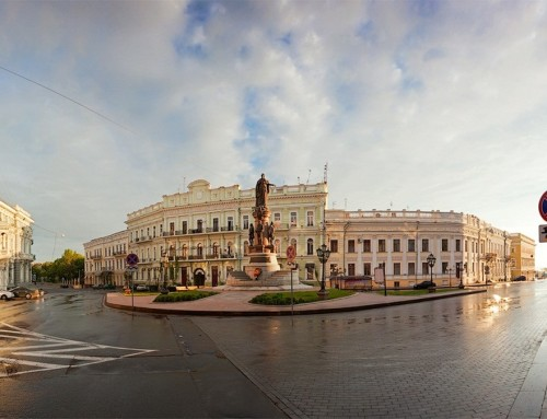 Odessa general city orientation (walking tour/by electro car)